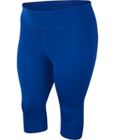 Plus Size One Capri Training Leggings