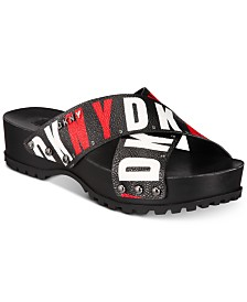 DKNY Wave Platform Sandals, Created for Macy's