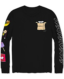 Peanuts Grocery Shopping List Global Artist Collective AVAF Men's Graphic T-Shirt