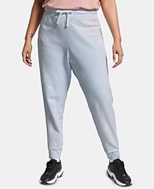 Plus Size Sportswear Cotton Sweatpants