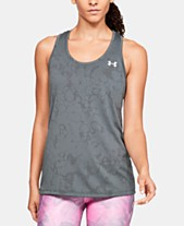 86b712d80003e Under Armour UA Tech Jacquard Racerback Tank Top