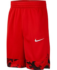 Nike Big Boys Printed-Hem Basketball Shorts