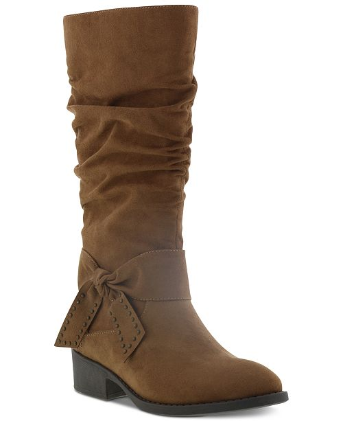Kenneth Cole Little & Big Girls Chloe Twist Boots