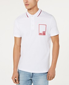 Love Moschino Men's Logo Graphic Polo