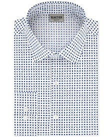 Men's Technicole Slim-Fit 3-Way Stretch Non-Iron Printed Dress Shirt