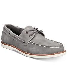 케네스콜 샌튼 보트 슈즈  - 그레이 Unlisted by Kenneth Cole Mens Santon Boat Shoes,Grey