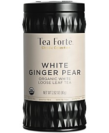 Tea Forte LTC White Ginger Pear White Loose-Leaf Tea