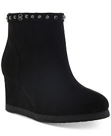 Michael Kors Little & Big Girls Cara Studdys Wedge Boots