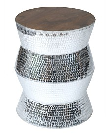 East At Main's Hardy Aluminum Accent Table