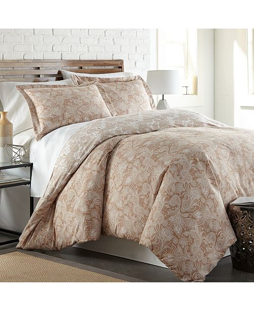 Southshore Fine Linens Perfect Paisley Boho Duvet Cover and Sham Set, Twin/Twin XL