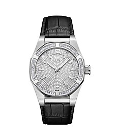 Men's Apollo Diamond (1/10 ct.t.w.) Stainless Steel Watch