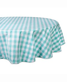 """Checkers Table cloth 70"""" Round"""