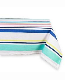 """Table cloth Beachy Keen Stripe 52"""" X 52"""""""