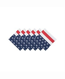 Stars and Stripe Napkin Set of 6