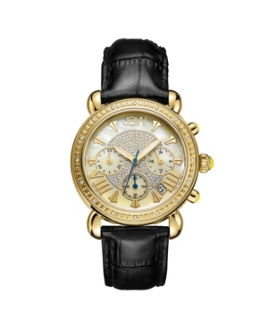 Women's Victory Diamond (1/6 ct.t.w.) 18k Gold Plated Stainless Steel Watch