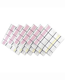 Color Pop Plaid Napkin Set of 6