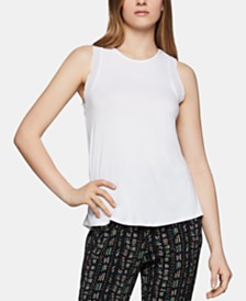 BCBGeneration Georgette-Trim Tank Top