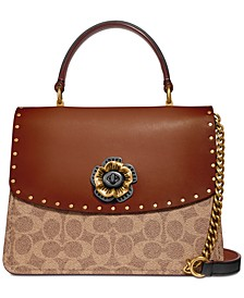 Signature Top-Handle Satchel