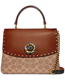 COACH Signature Top-Handle Satchel