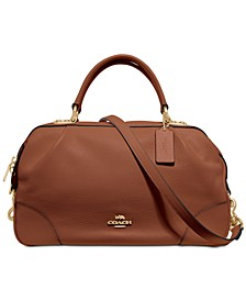 Pebble Leather Lane Satchel