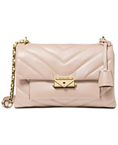 4aba22d95f5d MICHAEL Michael Kors Cece Chevron-Quilted Leather Crossbody