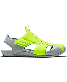 Nike Little Boys' Sunray Protect 2 Sandals from Finish Line