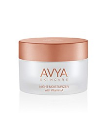 Skincare Night Moisturizer with Vitamin A