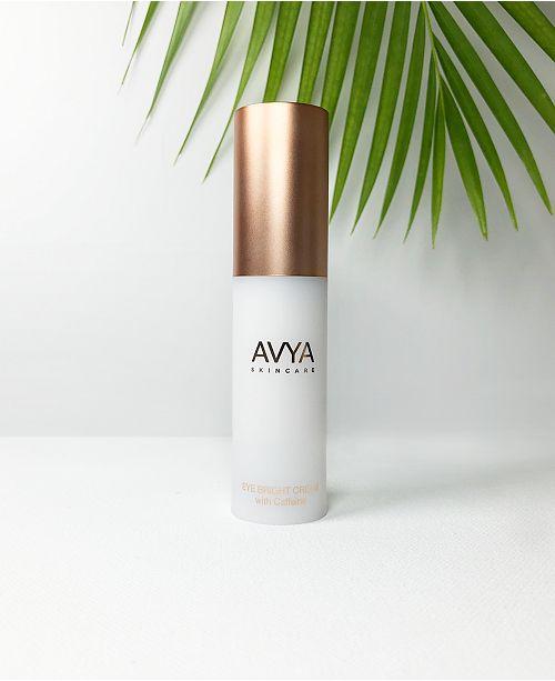 AVYA Skincare Eye Bright Cream with Caffeine