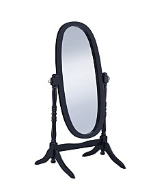 Shelby Oval Cheval Mirror