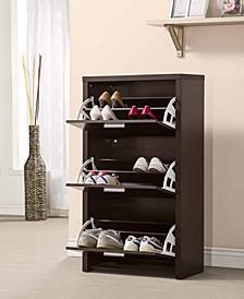 Tulsa 3-Drawer Tall Shoe Cabinet