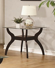 Cooper End Table with Non-Bulky Legs