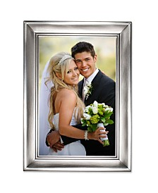 "Lawrence Frames Brushed Pewter Metal Picture Frame - 4"" x 6"""