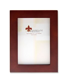 """Lawrence Frames Walnut Wood Picture Frame - Gallery Collection - 2"""" x 3"""""""
