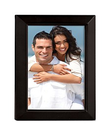 "Lawrence Frames Black Wood Picture Frame - Estero Collection - 8"" x 10"""