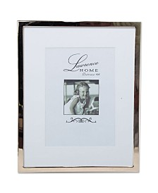 "Lawrence Frames 710680 Silver Standard Metal 8x10 Matted For Picture Frame - 5"" x 7"""