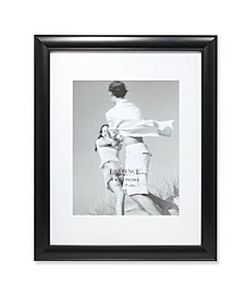 "Black Gallery Frame Matted To 8x10 - 11"" x 14"""