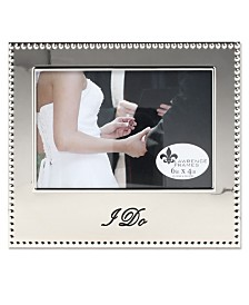 "Lawrence Frames I Do Picture Frame - 4"" x 6"""