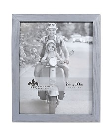 """Lawrence Frames Charlotte Weathered Gray Wood Picture Frame - 8"""" x 10"""""""