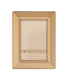 "Gold Metal Picture Frame - Classic Bevel - 2"" x 3"""