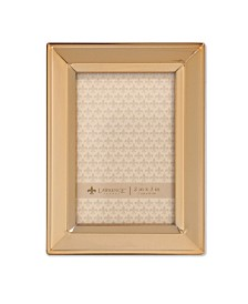 """Lawrence Frames Gold Metal Picture Frame - Classic Bevel - 2"""" x 3"""""""