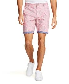 Tallia Men's Modern-Fit Stretch Ornate Paisley Shorts