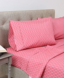 Andover Hills 4-Piece Soft Microfiber Full Sheet Set
