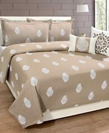Home Dynamix Sohome Studio 3-Piece 100% Cotton Queen Duvet Set