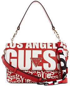 GUESS Analise Logo Flap Crossbody