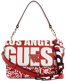 GUESS Analise Logo Flap Crossbody