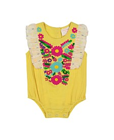 Masala Baby Girls Ruffle One Piece