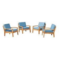 Grenada Outdoor Club Chair (Set of 4)