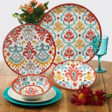 Certified International Bali Melamine Dinnerware Collection