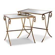Ambre 2pc Table Set, Quick Ship