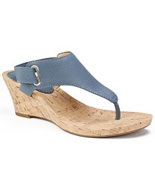 White Mountain All Glad Wedge Sandals